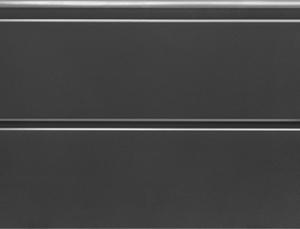 Antracit(RAL 7016), szélesbordás, sima felület