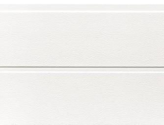 Fehér(RAL 9016), szélesbordás, faerezetes felület