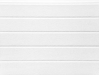 Fehér(RAL 9016), keskenybordás, faerezetes felület