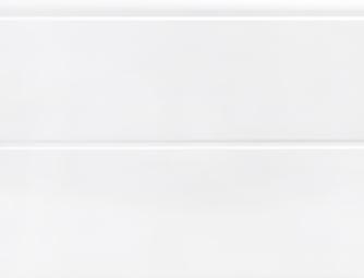 Fehér(RAL 9016), szélesbordás, sima felület